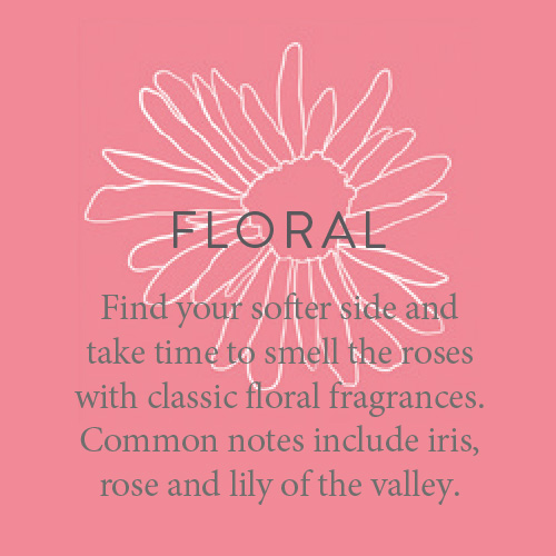 Fragrance candles floral. Find your softer side and take time to smell the roses with classic floral fragrances. Common notes include iris, rose and lily of the valley.